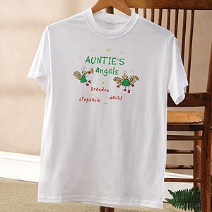 Personalized Christmas Angels Shirts and Accessories - 2899