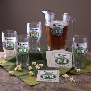 Personalized Irish Pub Barware Sets - 3258D