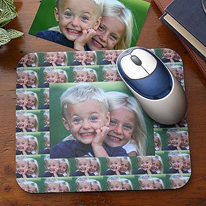 Custom Personalized Photo Collage Mouse Pad - 3306