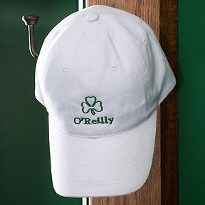 Custom Personalized St Patrick's Day Shamrock Hat - 3368