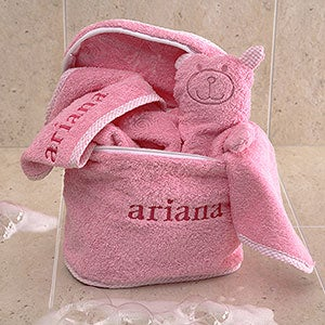 Personalized Baby Terry Bath Set - 3503