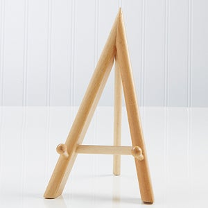 Natural A-Frame Wood Display Easel - 3730