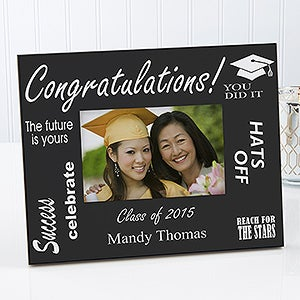 Personalized Graduation Photo Frame - The Future is Yours Style - 3741