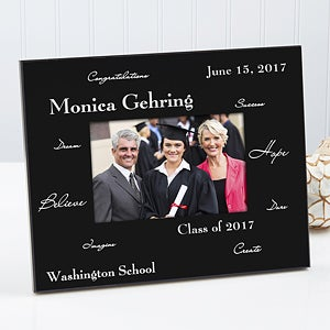 Personalized Graduation Photo Frame - Words to Inspire - 3781