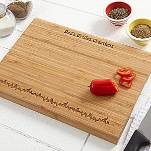 Grilled To Perfection Personalized Cutting Board - 3785