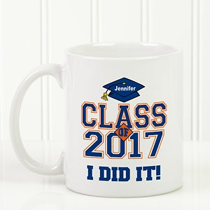 Custom Graduation Mug - Cheers to the Graduate Style - 3833