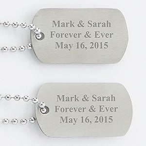 Personalization Mall Personalized Keepsake Dog Tag Set at Sears.com