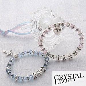 Personalized Birthstone Baby Bracelet - 4053D