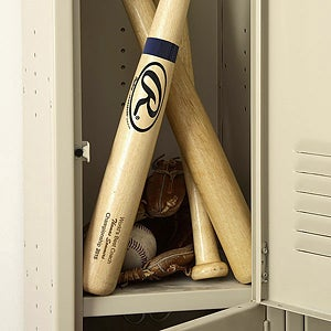 You're Number One Personalized Wooden Baseball Bat - 4097