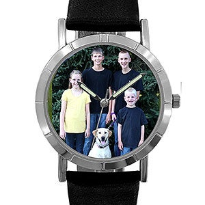 custom personalized photo watch picture on watch face