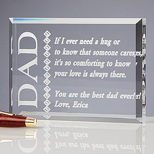 Personalized Dad Sculpture Gift