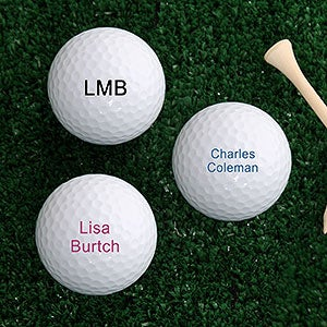 Personalized Top-Flite Golf Balls - Printed with Your Message - 4196