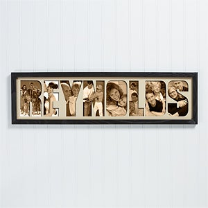 Personalized Name Photo Collage Frame - 4249