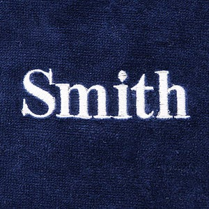 Personalization Mall Embroidered Name Men's Towel Wrap at Sears.com