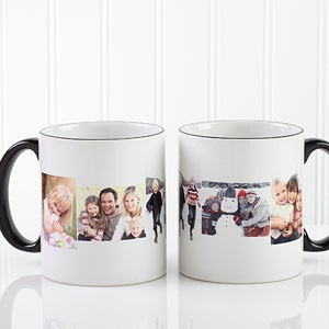 Photo Montage Personalized Ceramic Coffee Mug - 4463