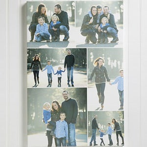Custom Personalized Photo Montage Canvas Print - 4464