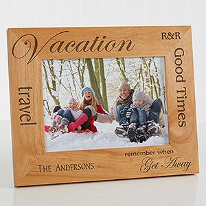 Personalized Vacation Picture Frames - 4519