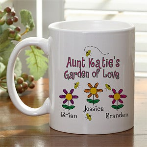 Personalization Mall Mother's Day Gifts -  Personalized Coffee Mug - Garden of Love Flowers at Sears.com