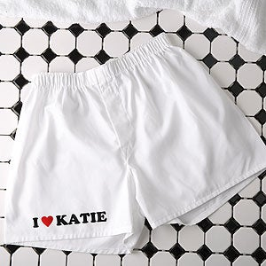 Personalized Boxer Shorts