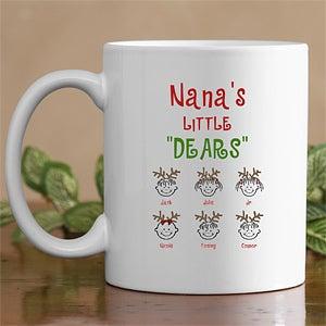 Personalization Mall Personalized Little Dears Holiday Coffee Mug at Sears.com