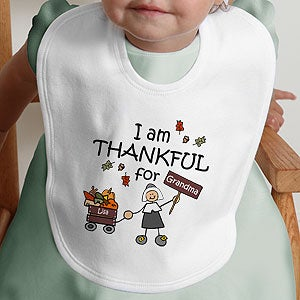 Personalized Kids and Baby Clothes - Thanksgiving Pilgrim - 4624