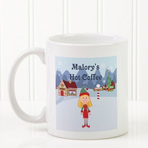 Lenox Personalized Christmas Mugs from Sears.com