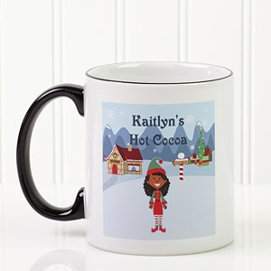 Personalized Cocoa Mugs for Christmas - Christmas Characters Design - 4772