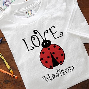 Personalized Kids and Baby Clothes - Love Bug - 4812