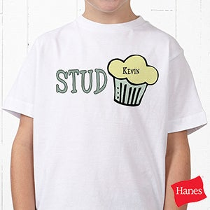 Personalization Mall Personalized Kids T Shirt - Stud Muffin at Sears.com