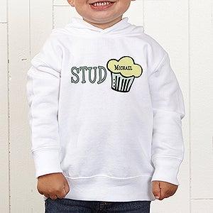 Personalization Mall Personalized Kids Hooded Sweatshirts - Stud Muffin at Sears.com