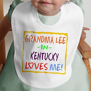 Personalized Kids and Baby Clothes - Somebody Loves Me - 4814