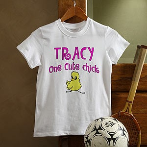 Personalization Mall Custom Easter T-shirts For Kids - Cute Chick Design at Sears.com
