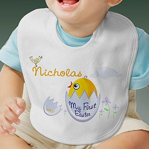 Personalization Mall Personalized First Easter Baby Bib- My First Easter Design at Sears.com