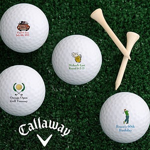 Personalized Golf Balls - Design Your Message - 4913