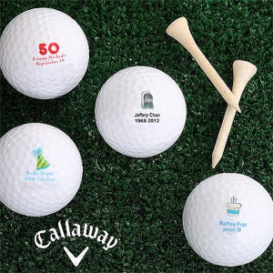 Personalized Birthday Golf Balls - Birthday Celebration Style - 4914