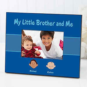 Brother Cartoon Character Personalized Picture Frames - 4971