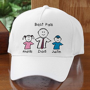 Personalized Baseball Cap In You and Me Design - 5013