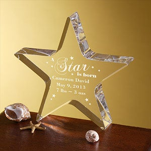 Personalized Gifts - Newborn Baby Star Keepsake - 5016