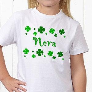 Personalized Irish St Patrick's Day Shamrock Clothes - 5039