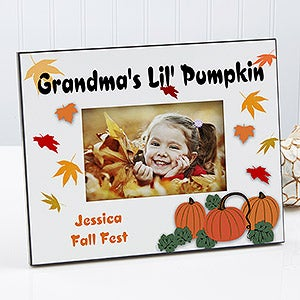 Personalized Pumpkin Patch Custom Picture Frame - 5064