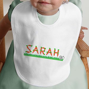 Personalization Mall Personalized Easter Baby Bib - Crazy for Carrots Design at Sears.com
