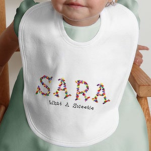 Personalization Mall Personalized Easter Baby Bib - Jelly Bean at Sears.com