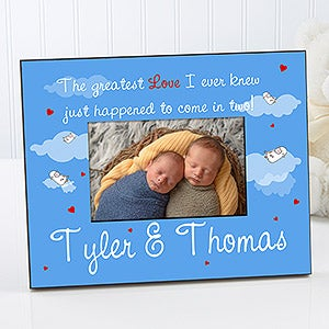Personalized Twins Photo Frame - Greatest Love - 5092