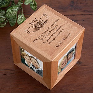 Personalization Mall Irish Blessing Personalized Claddagh Photo Cube Picture Frame at Sears.com