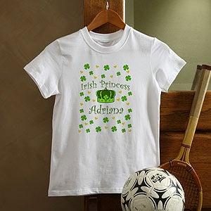 Personalization Mall Irish Princess Personalized St Patrick's Day Girls T-Shirt at Sears.com