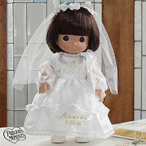 Personalized First Holy Communion Doll - Precious Moments Doll - 5232