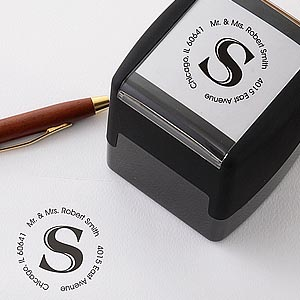 Initial It! Personalized Self-Inking Address Stamper (Multiple Colors)