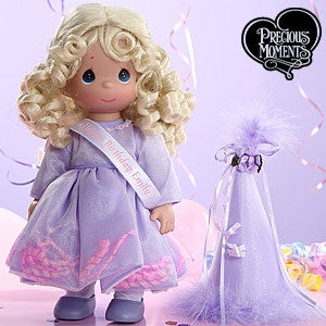 Personalization Mall Precious Moments Personalized Blonde Birthday Doll at Sears.com