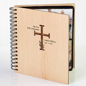 Personalized First Communion Photo Album - 5254