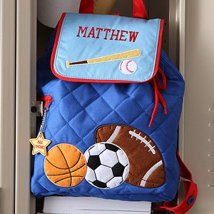 Personalized Kids\\\' Sports Duffel Bags All Star Sports Embroidered